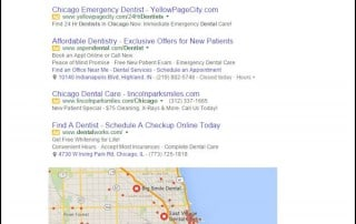 dentist search engine marketing